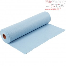 Craft Felt, W: 45 cm, thickness 1,5 mm, light blue, 5m, 180-200 g/m2