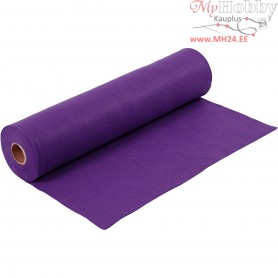 Craft Felt, W: 45 cm, thickness 1,5 mm, purple, 5m, 180-200 g/m2