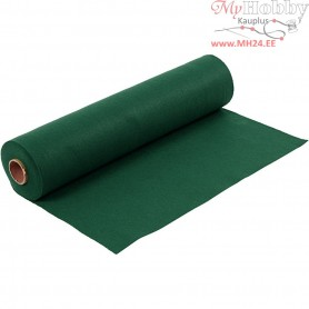 Craft Felt, W: 45 cm, thickness 1,5 mm, dark green, 5m, 180-200 g/m2