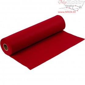 Craft Felt, W: 45 cm, thickness 1,5 mm, antique red, 5m, 180-200 g/m2