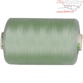 Sewing Thread, mint green, polyester, 1000m