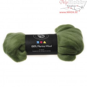 Merino Wool,  21 micron, cactus, South Africa, 100g