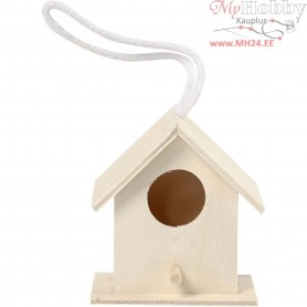 Bird House, size 6x6 cm, plywood, 1pc