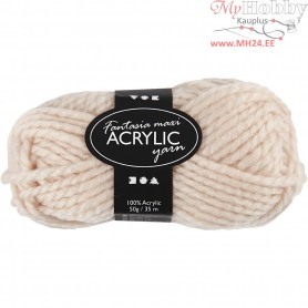 Fantasia Acrylic Yarn, L: 35 m, powder, Maxi, 50g