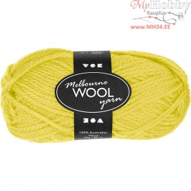 Melbourne Yarn, L: 92 m, neon yellow, 50g