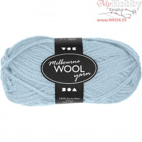 Melbourne Yarn, L: 92 m, light turquoise, 50g