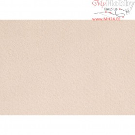 Craft Felt, A4 21x30 cm, thickness 1,5-2 mm, light skin colour, 10sheets