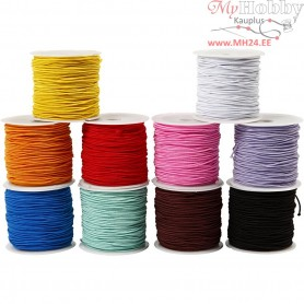 Elastic Beading Cord, thickness 1 mm, 10x25m