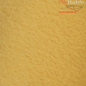 Fleece, L: 125 cm, W: 150 cm, yellow, 1pc, 200 g/m2