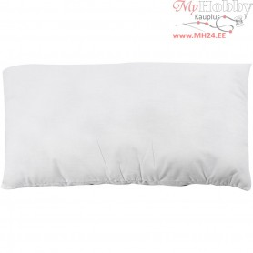 Stuffed Pillow, size 35x60 cm, white, 240 g polyester stuffing, 1pc