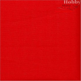 Cotton Fabric, W: 145 cm,  140 g/m2, red, 1rm
