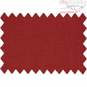 Cotton Fabric, W: 145 cm,  140 g/m2, christmas red, 1rm