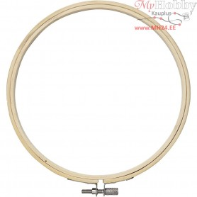 Embroidery Frame, D: 15 cm, 1pc