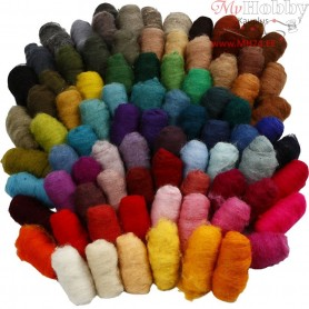 Carded Wool, 86x10g