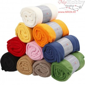Fleece, L: 125 cm, W: 150 cm, 10pcs