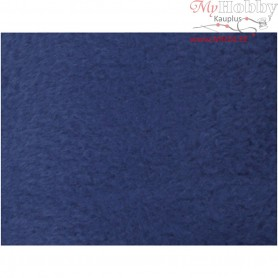Fleece, L: 125 cm, W: 150 cm, blue, 1pc, 200 g/m2
