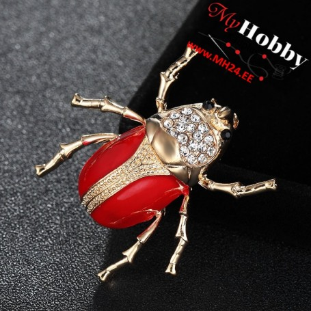 Cute Bug Insect Brooch