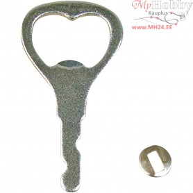 Bottle Opener for handle, L: 7 cm, 5pcs