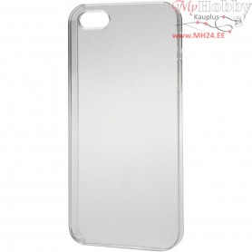 Mobile Phone Cover, 4/4S, size 6x11.5 cm, thickness 10 mm, transparent, 1pc