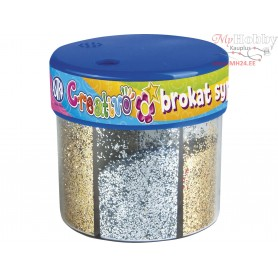 Loose silver and gold glitter 50 g