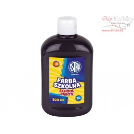 School paint ASTRA 500 ml - black