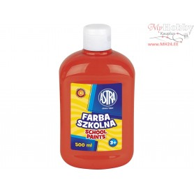 School paint ASTRA 500 ml - dark red