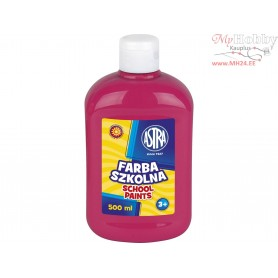 School paint ASTRA 500 ml - pink