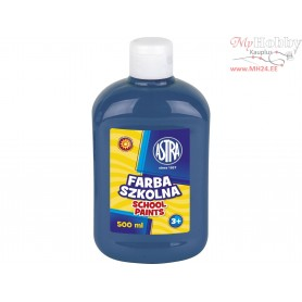 School paint ASTRA 500 ml - dark blue