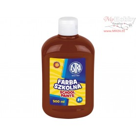 School paint ASTRA 500 ml - brown