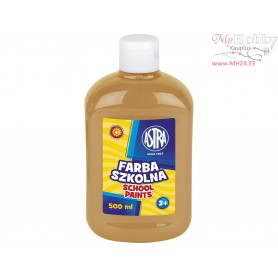 School paint ASTRA 500 ml - light brown