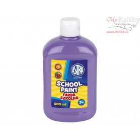 School paint ASTRA 500 ml - violet