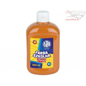 School paint ASTRA 500 ml - orange