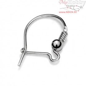 Sterling Silver Locking ear wires