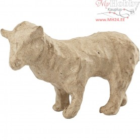 Sheep, H: 6,5 cm, L: 9 cm, 1pc