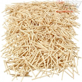 Matchsticks, L: 48 mm, D: 2 mm, 100g