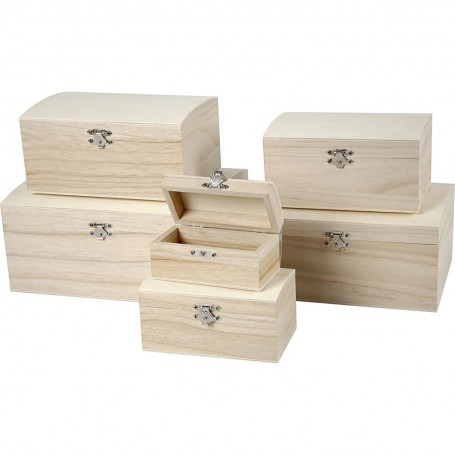 "Treasure Chest ""MyHobby"" empress wood"