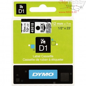 Dymo Tape, W: 12 mm, transparent, 7m