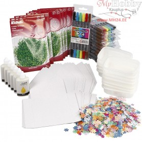 Creative Learning Kit, 24 persons, 1set