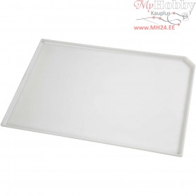 Inking Tray, size 22,5x33 cm, white, 1pc