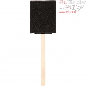 Foam Brushes, W: 50 mm, 10pcs