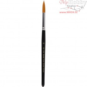 Gold Line Brushes, size 22 , W: 8 mm, round, 6pcs
