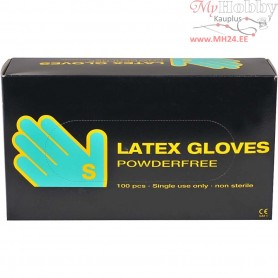 Latex Gloves, size small , latex, 100pcs