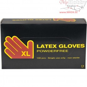 Latex Gloves, size x-large , latex, 100pcs