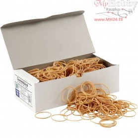 Rubber Bands,  5-8 cm, thickness 1 mm, 500g