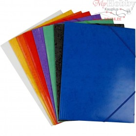 Flap Elasticated Folder, A4 22,9Ć—32,4 cm, 24mixed
