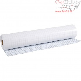 Transparent sticky back plastic, thickness 80 micron, W: 40 cm, 25m