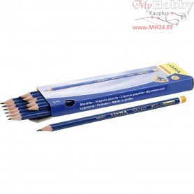 Robinson Pencils, D: 6,8 mm, lead: 2 mm, hardness: HB, 12pcs