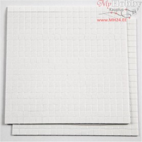 3D Foam Pads, size 5x5x1 mm, 2sheets