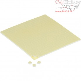 3D Foam Pads, size 5x5x3 mm, 2sheets
