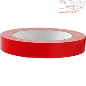 Duct Tape, W: 19 mm, red, 25m